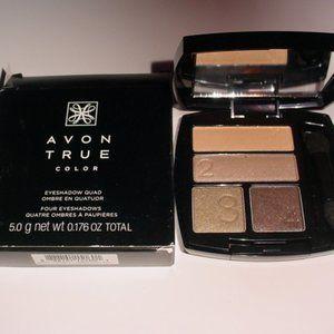 AVON NIB True Color Eyeshadow GILDED METALLICS